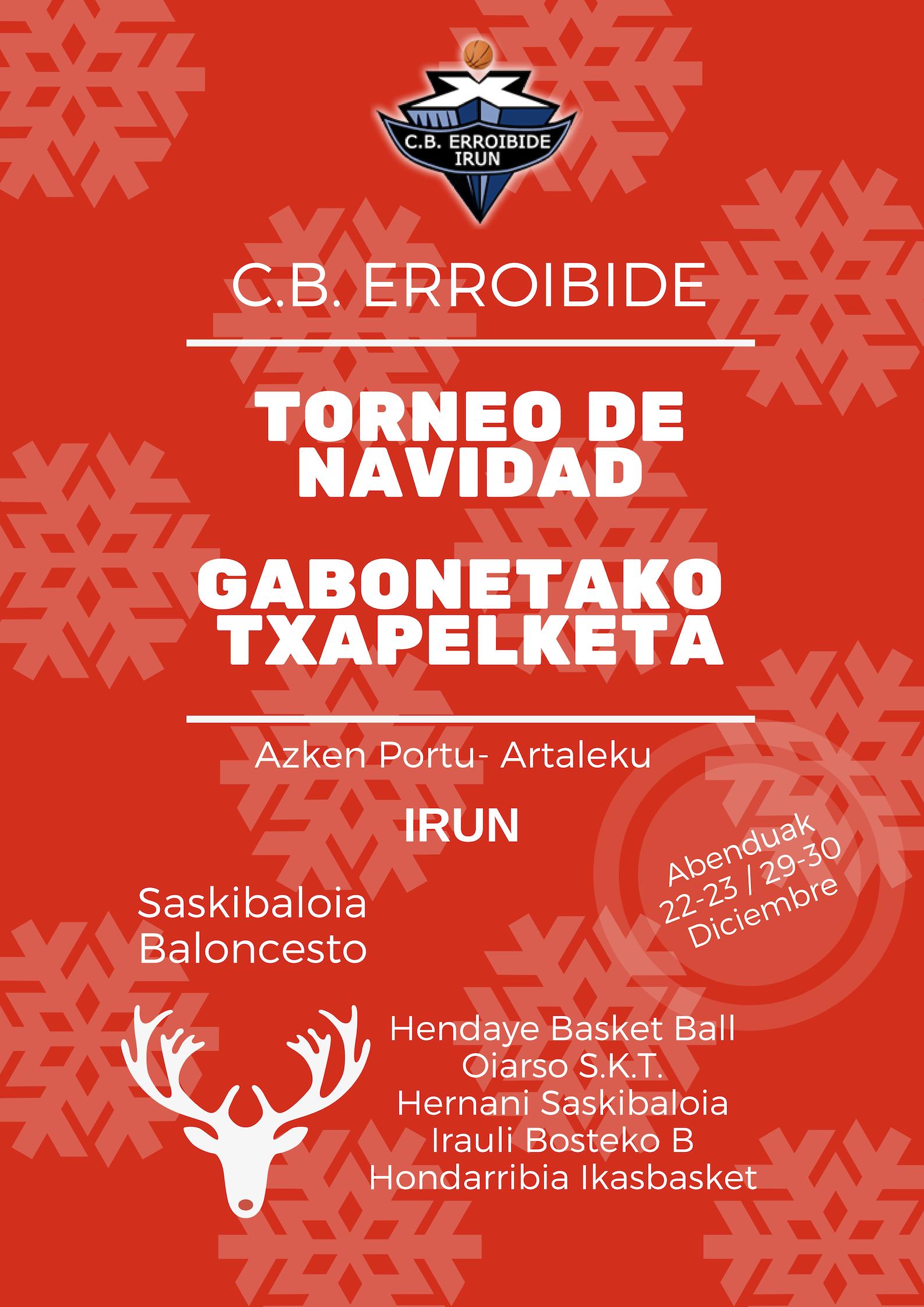 Gabonetako Txapelketa- Torneo de Navidad