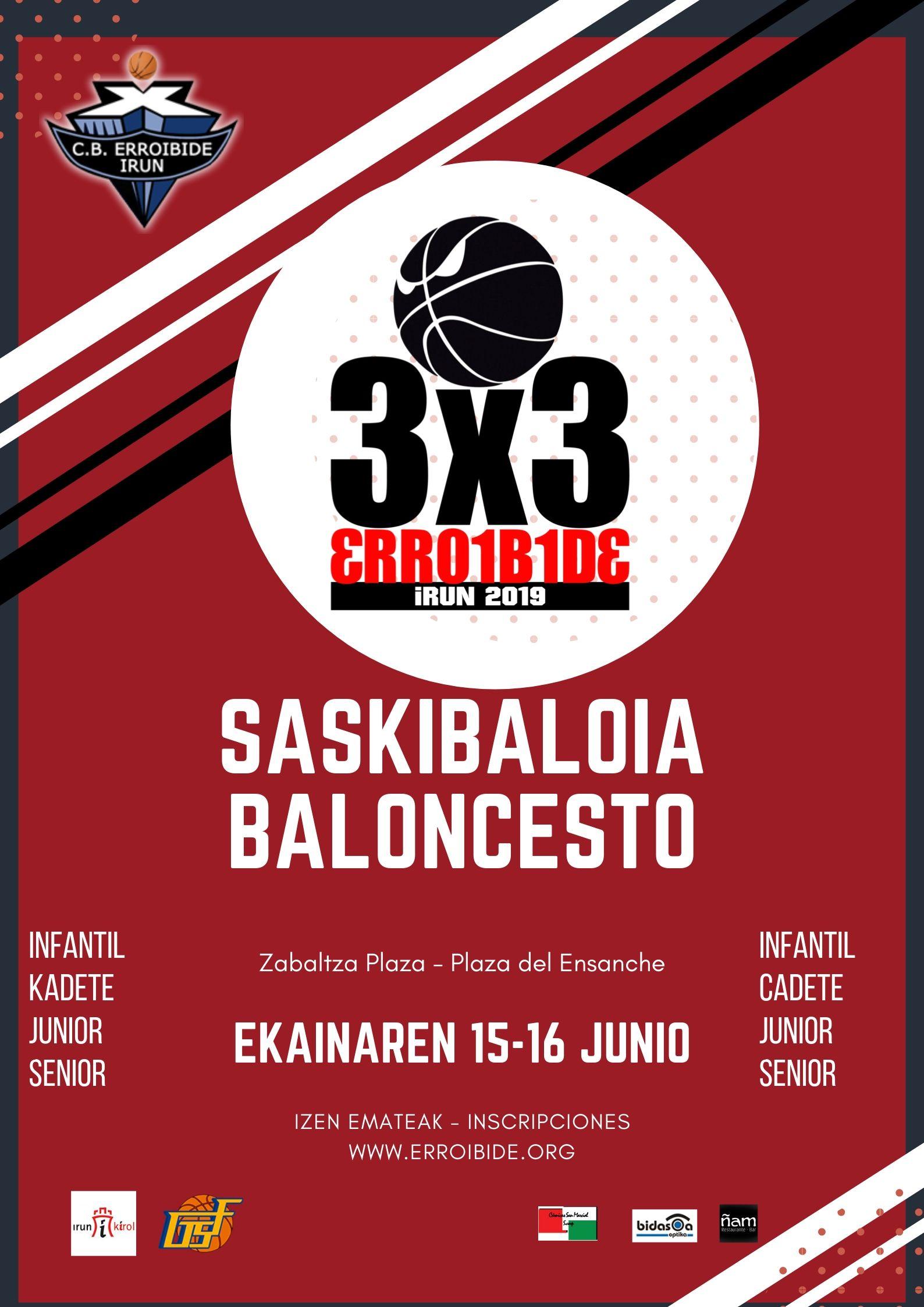 Torneo 3×3 2019                    C.B. ERROIBIDE